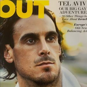 Out magazine Chris Kluwe cover.